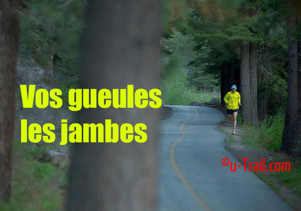 Vos gueules les jambes