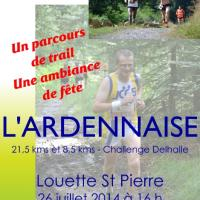 Affiche Ardennaise 2014