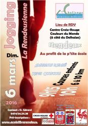 Affiche jogging 2016