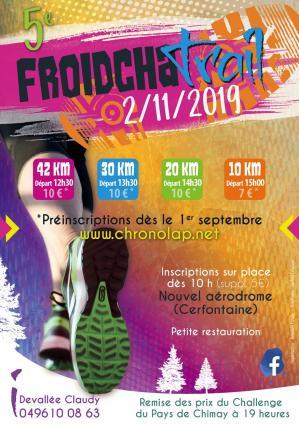 Affiche Froidchatrail