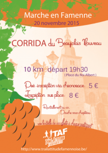 Corrida du beaujolais 2015