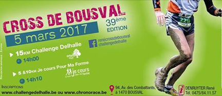 Cross bousval 2017