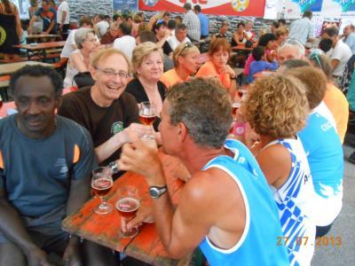 Nos amis champenois à l'Ardennaise 2013