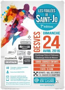 Flyer foulees saint jo 2016