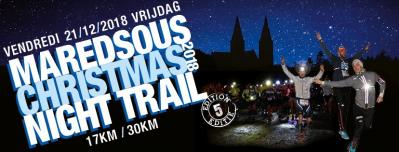 Maredsous christmas night trail 2018